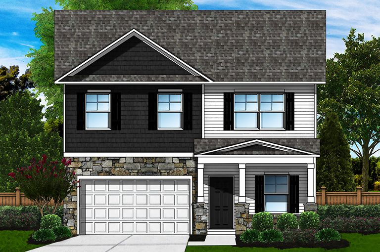 Exterior featured in the Bentcreek D By Great Southern Homes in Columbia, SC