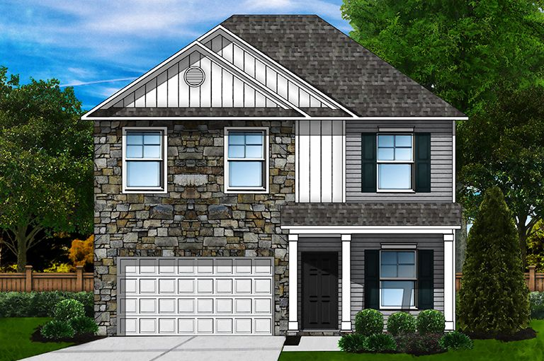 Exterior featured in the Bentcreek F By Great Southern Homes in Columbia, SC