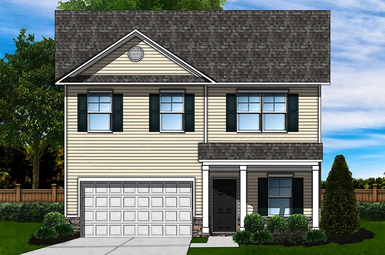 Exterior featured in the Bentcreek A By Great Southern Homes in Columbia, SC