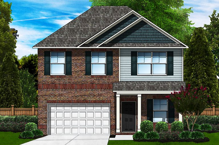 Exterior featured in the Bentcreek H By Great Southern Homes in Sumter, SC
