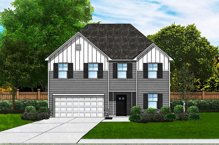 Exterior featured in the Parker B2 By Great Southern Homes in Florence, SC