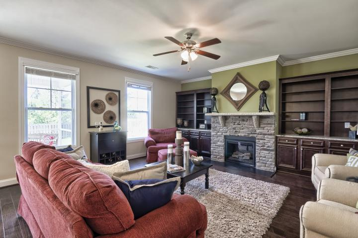 Living Area featured in the Devereaux E By Great Southern Homes in Sumter, SC