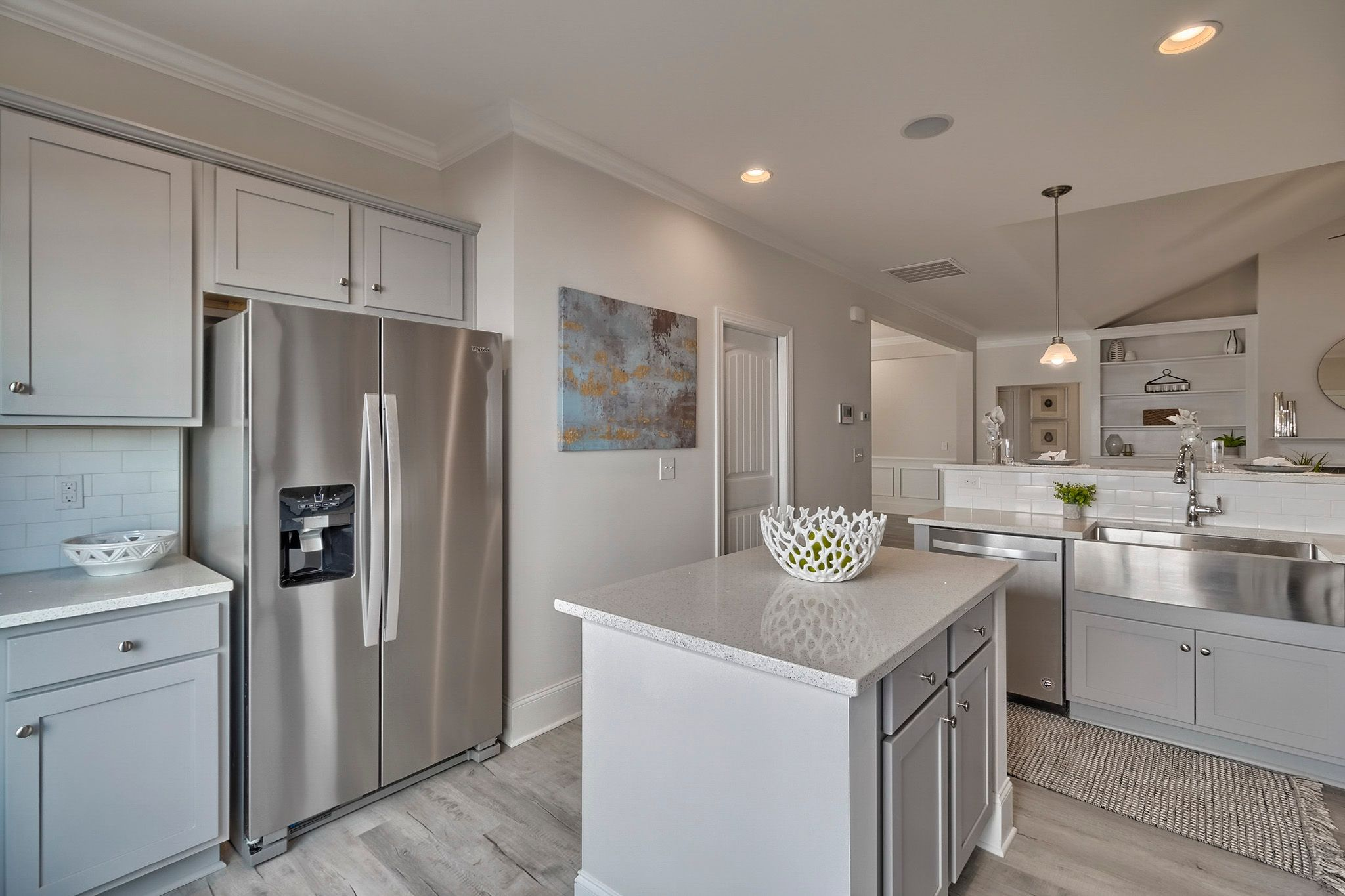 Kitchen featured in the Wisteria D4 By Great Southern Homes in Augusta, SC