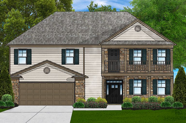 Exterior featured in the Beaujolais G By Great Southern Homes in Sumter, SC