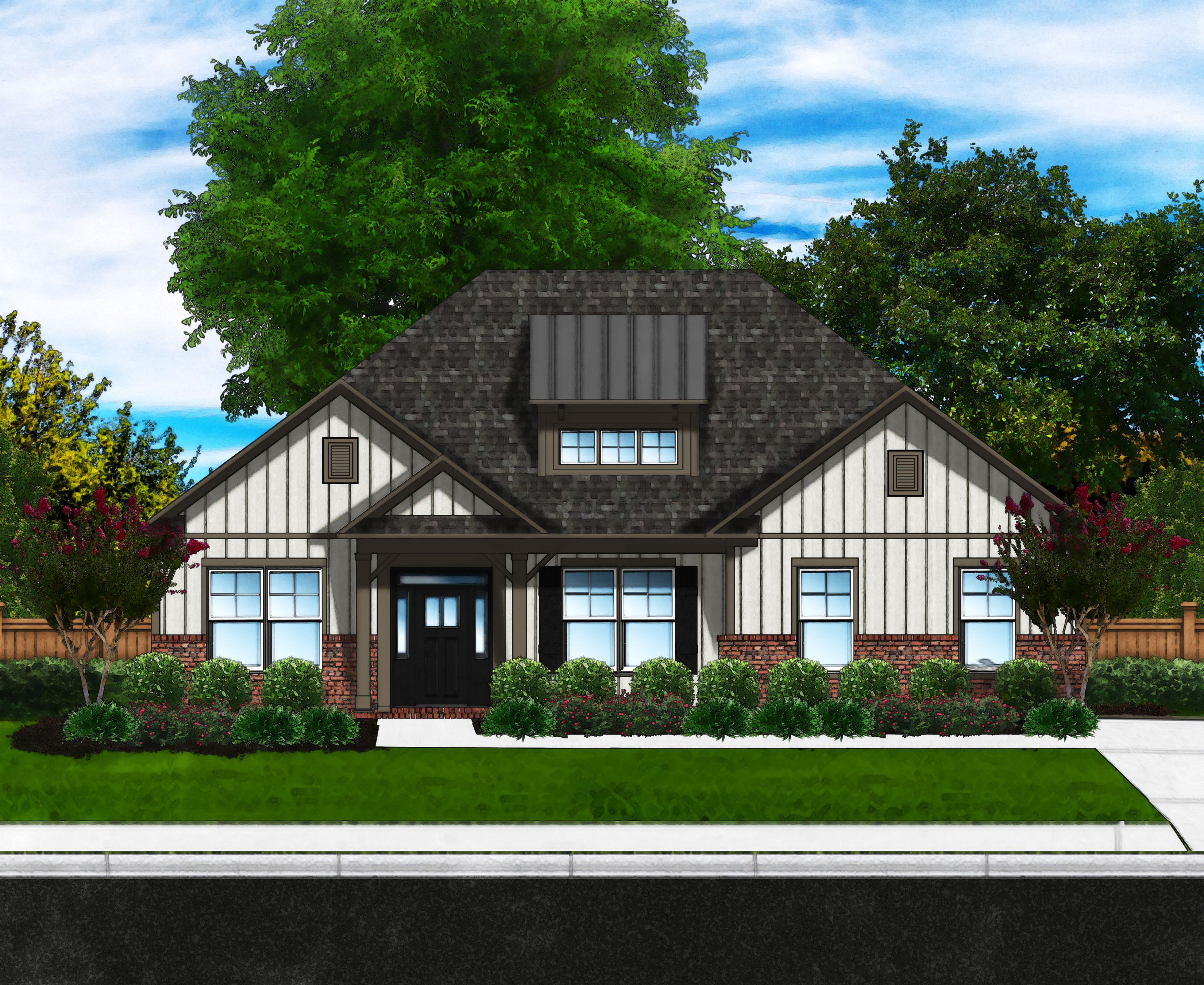 Exterior featured in the Magnolia D3 SL By Great Southern Homes in Florence, SC