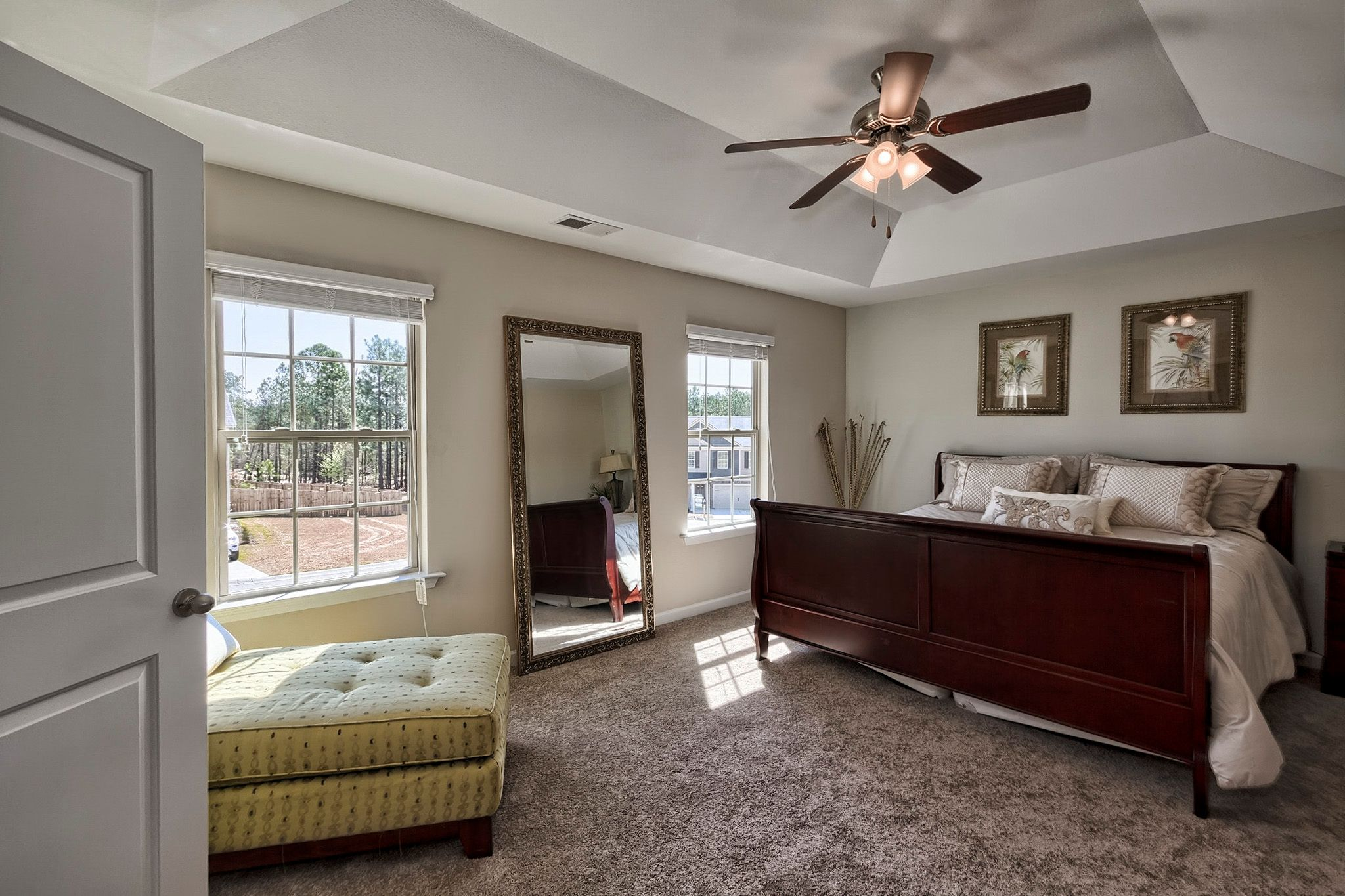Bedroom featured in the Davenport II E By Great Southern Homes in Augusta, SC
