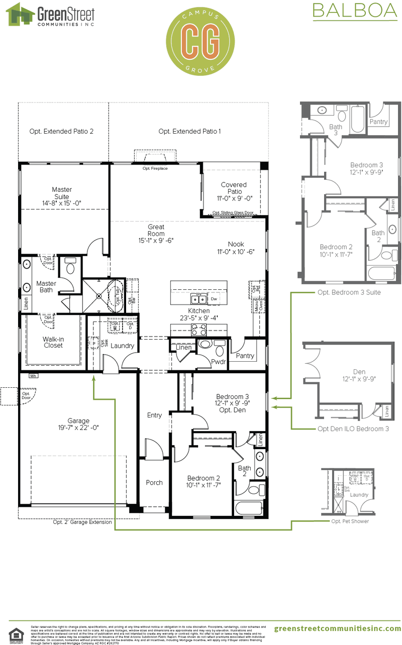 Balboa Floor Plan