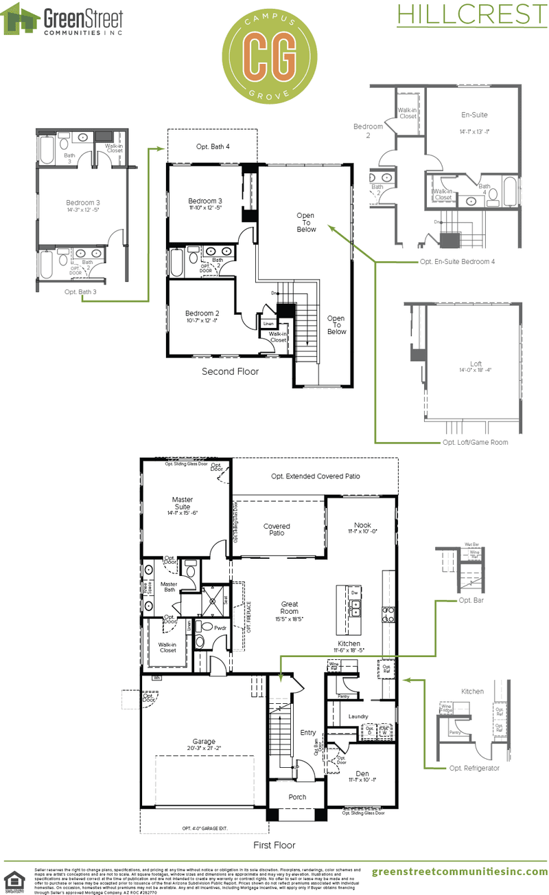 Hillcrest SP 4 Floor Plan