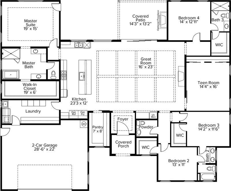 Floor Plan 3284