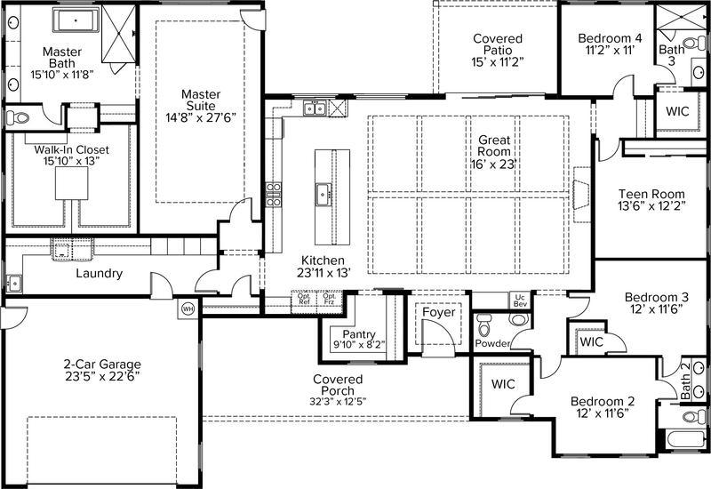 Lot 6 - Signature Plan 3369 Floor Plan