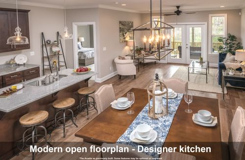 Greatroom-and-Dining-in-The Acadia-at-Millstone Cottages-in-Chattanooga