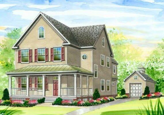 Exterior featured in The Sassafras By Green Diamond Builders in Eastern Shore, MD
