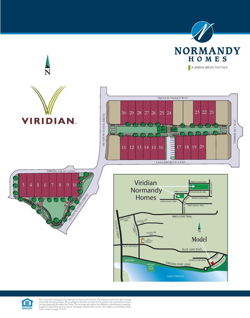Viridian Site Plan