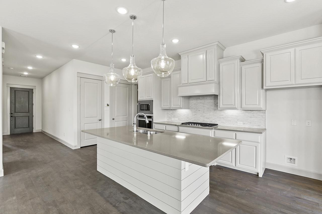 Kitchen featured in the Carnegie By Normandy Homes in Dallas, TX
