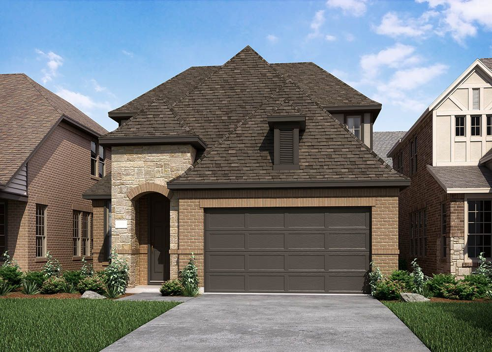 Exterior featured in the Rockport and Rockport II By Normandy Homes in Dallas, TX