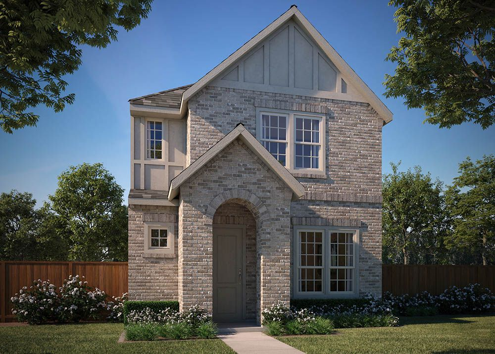 Exterior featured in the Joplin By Normandy Homes in Dallas, TX