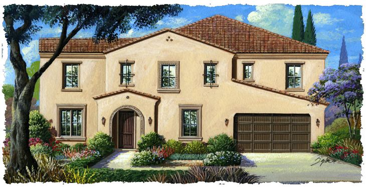 Rendering:Elevation 3A Spanish