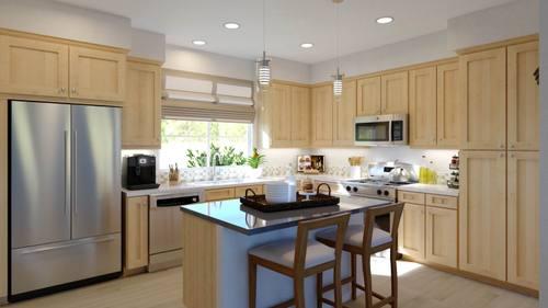 Kitchen-in-Plan 3-at-Boardwalk Townhomes-in-Corona