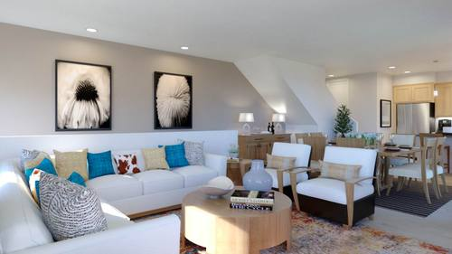 Greatroom-and-Dining-in-Plan 3-at-Boardwalk Townhomes-in-Corona
