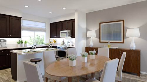 Kitchen-in-Plan Two - B-at-Boardwalk Townhomes-in-Corona
