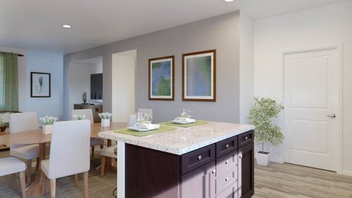 Dining-in-Plan Two - B-at-Boardwalk Townhomes-in-Corona
