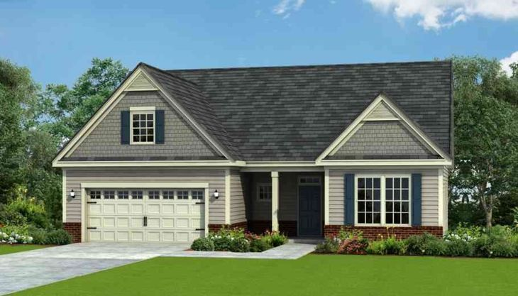 Exterior:Wrightsville - ELEVATION-A
