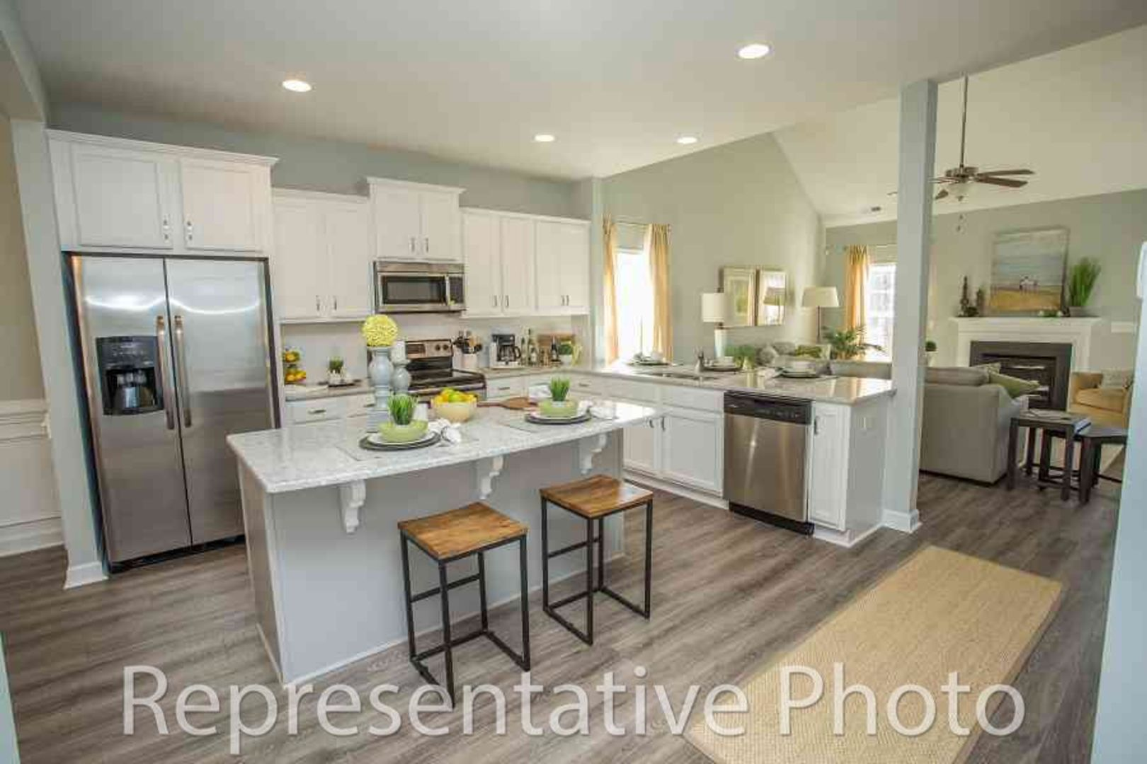 Kitchen-in-Jordan-at-Highcroft-in-Fayetteville