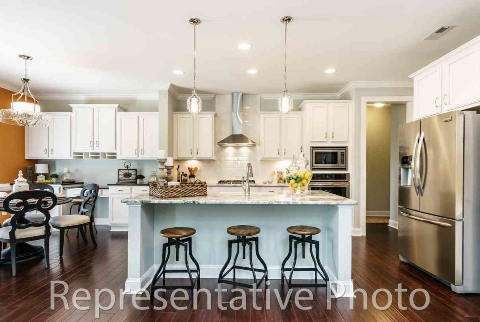 Kitchen-in-Hickory with Bonus-at-Belle Glade-in-Mint Hill