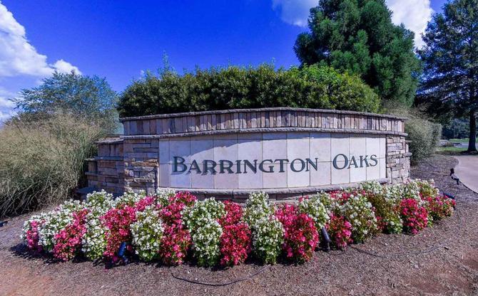 Welcome To Barrington Oaks