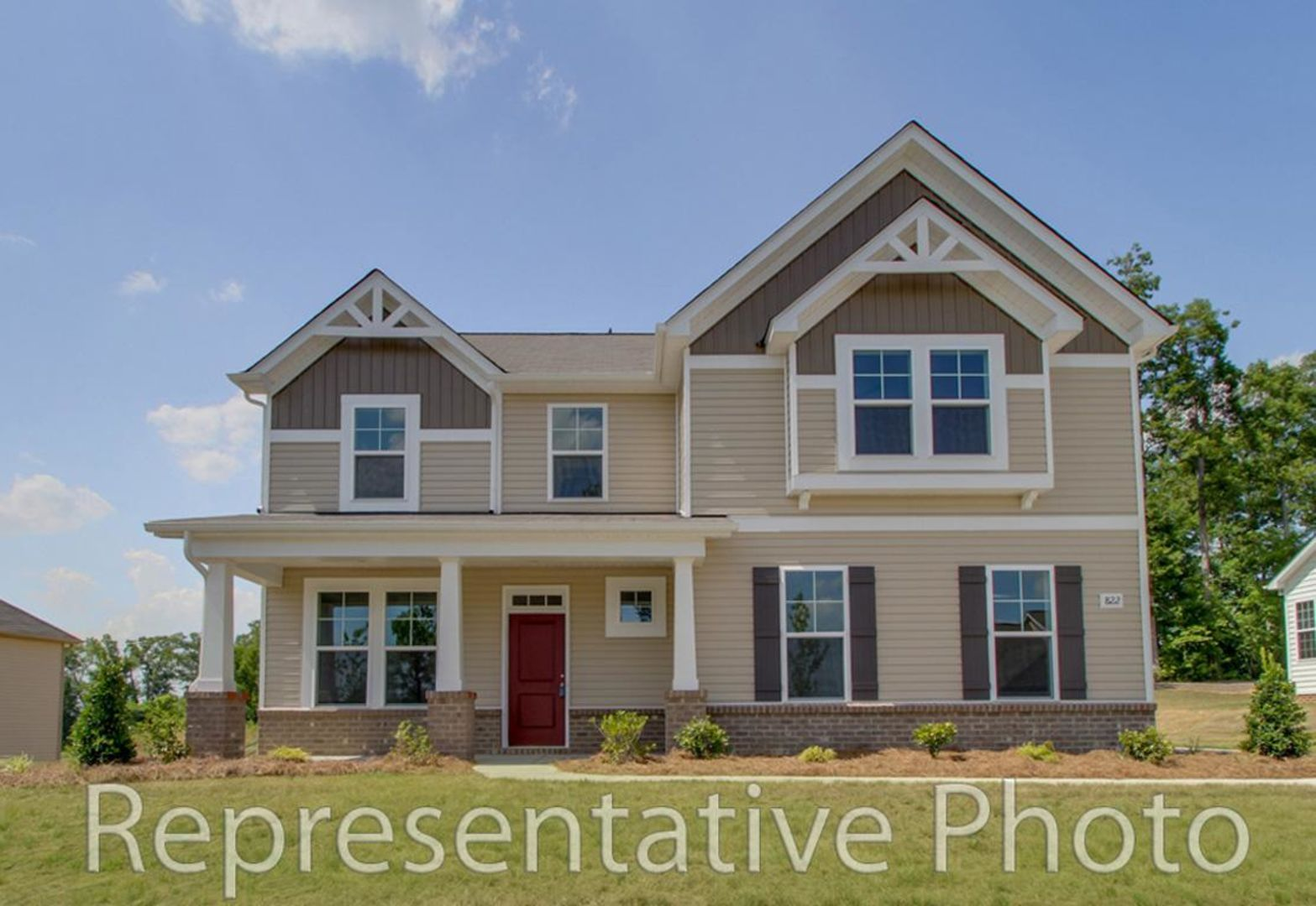 Exterior featured in the Topsail By HH Homes in Raleigh-Durham-Chapel Hill, NC