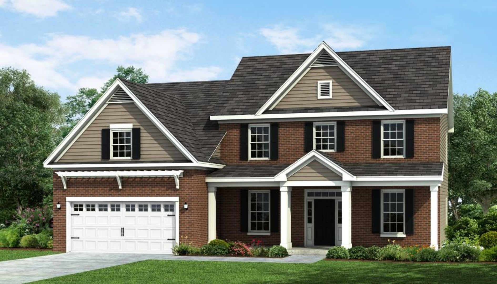 Exterior featured in the Roosevelt By HH Homes in Raleigh-Durham-Chapel Hill, NC