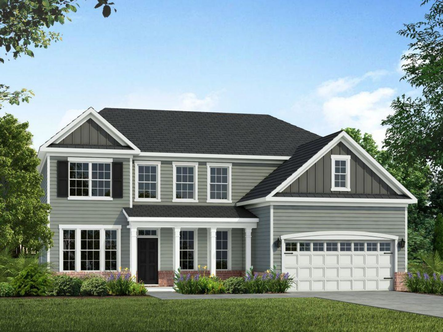 Exterior featured in the Redbud By HH Homes in Fayetteville, NC