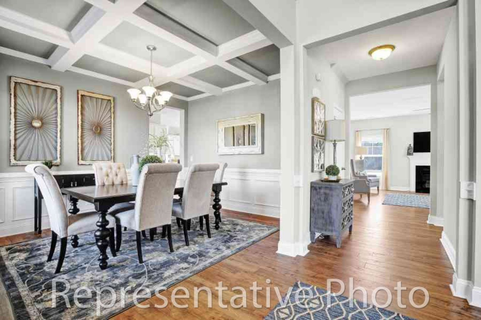 Living Area featured in the Redbud By HH Homes in Jacksonville, NC