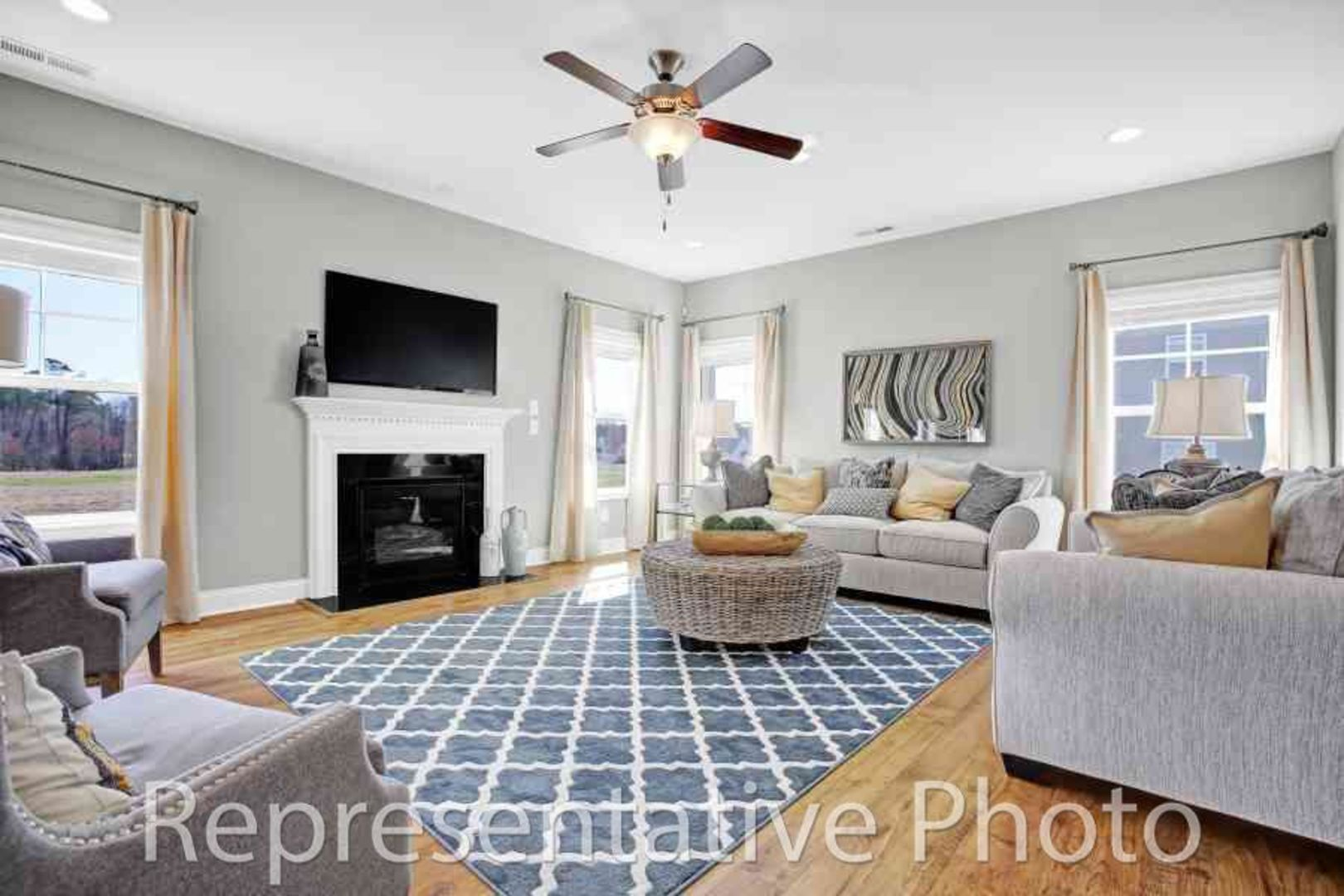 Living Area featured in the Redbud By HH Homes in Wilmington, NC