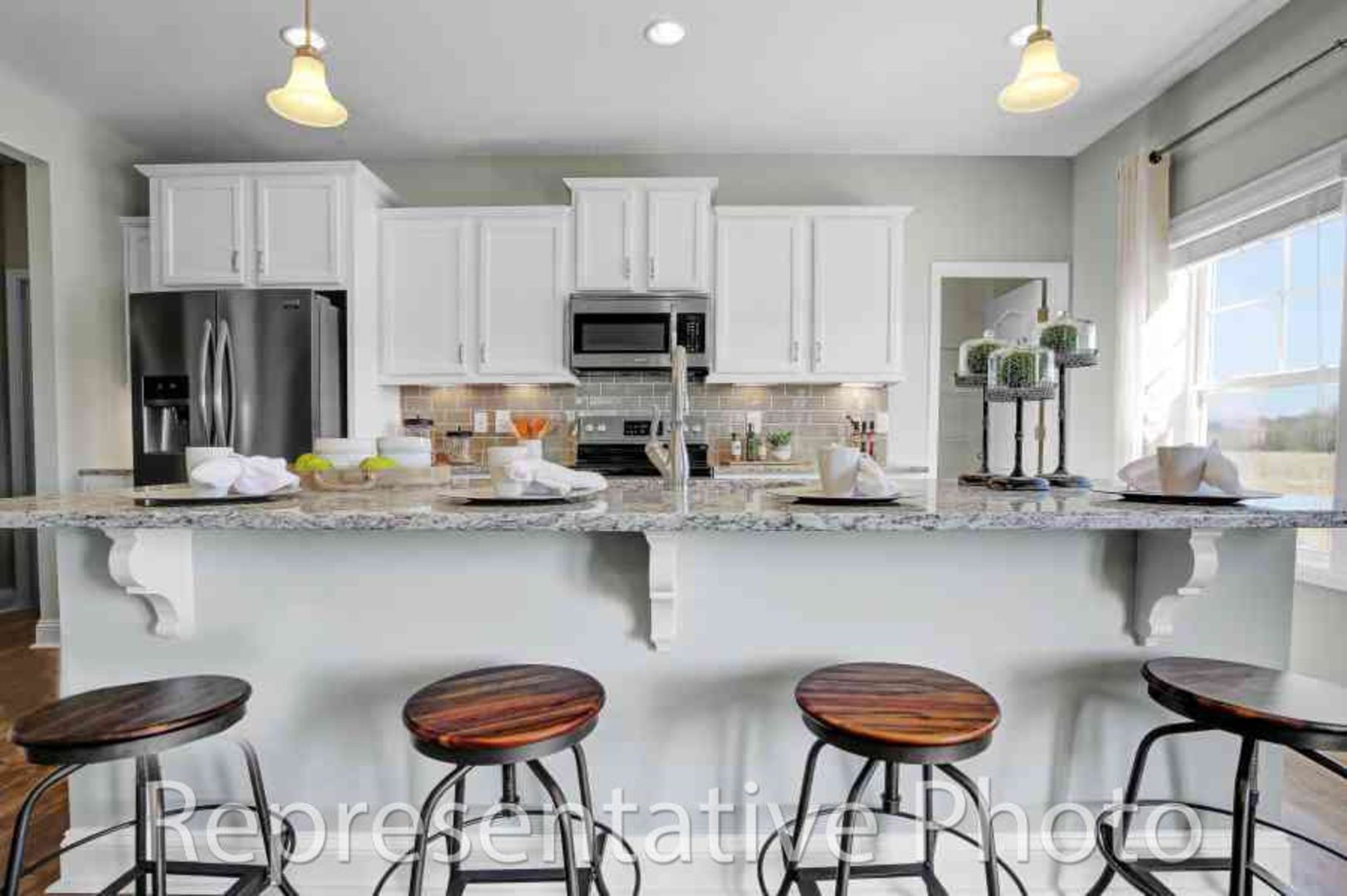 Kitchen featured in the Redbud By HH Homes in Wilmington, NC