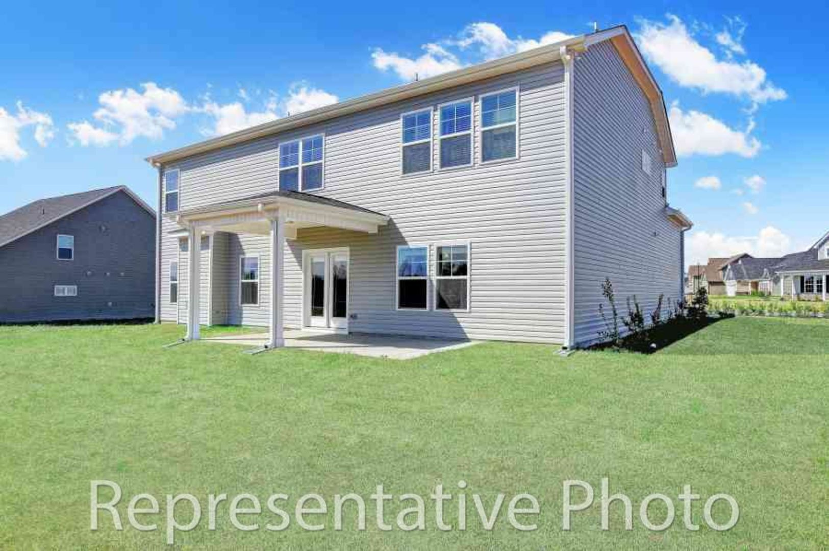 Exterior featured in the Redbud By HH Homes in Wilmington, NC