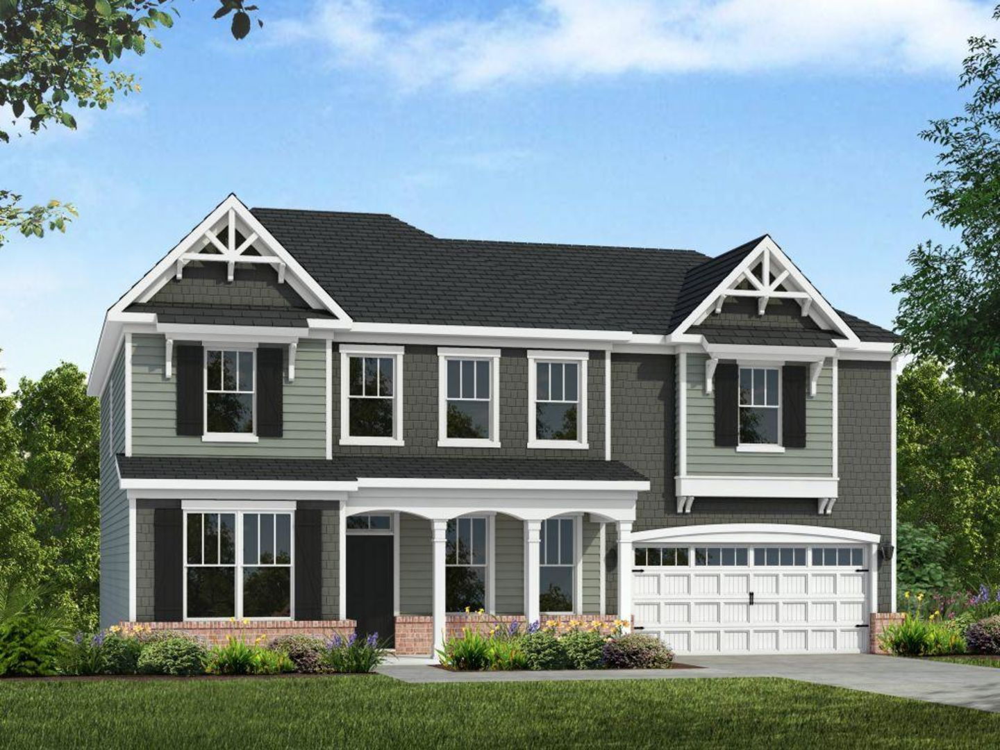 Exterior featured in the Dogwood By HH Homes in Jacksonville, NC