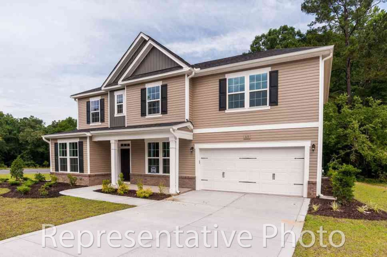 Exterior featured in the Dogwood By HH Homes in Raleigh-Durham-Chapel Hill, NC