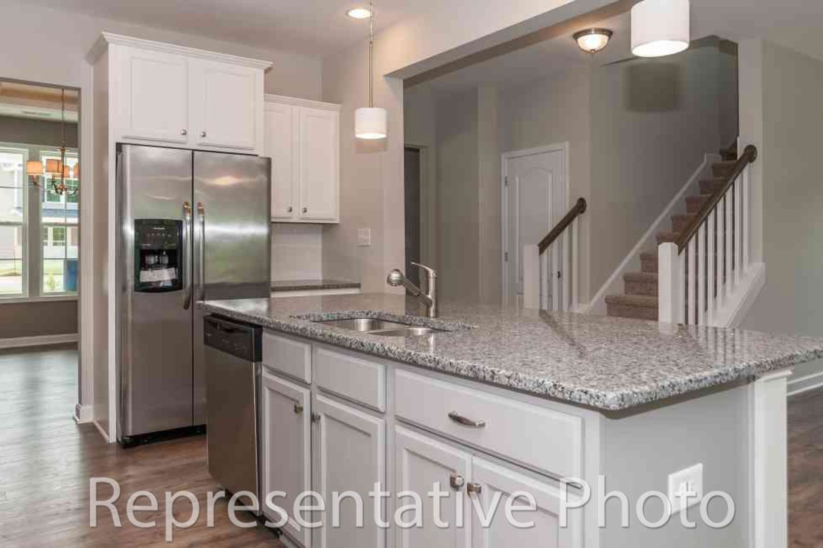 Kitchen featured in the Dogwood By HH Homes in Raleigh-Durham-Chapel Hill, NC