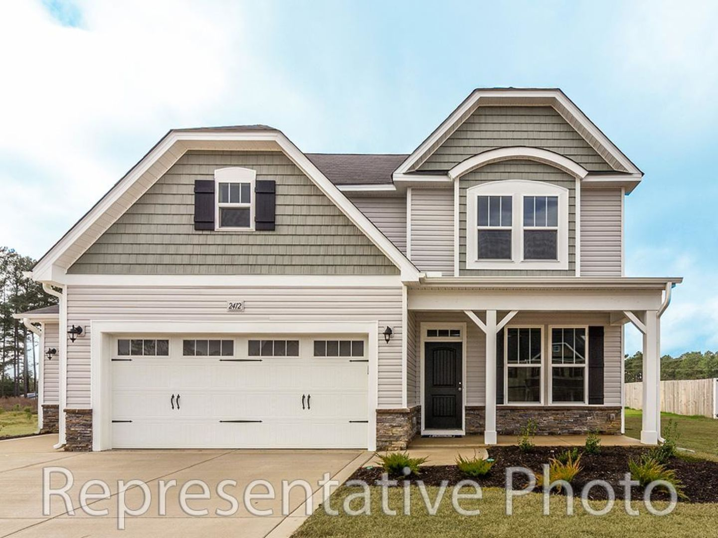 Exterior featured in the Jordan By HH Homes in Charlotte, NC