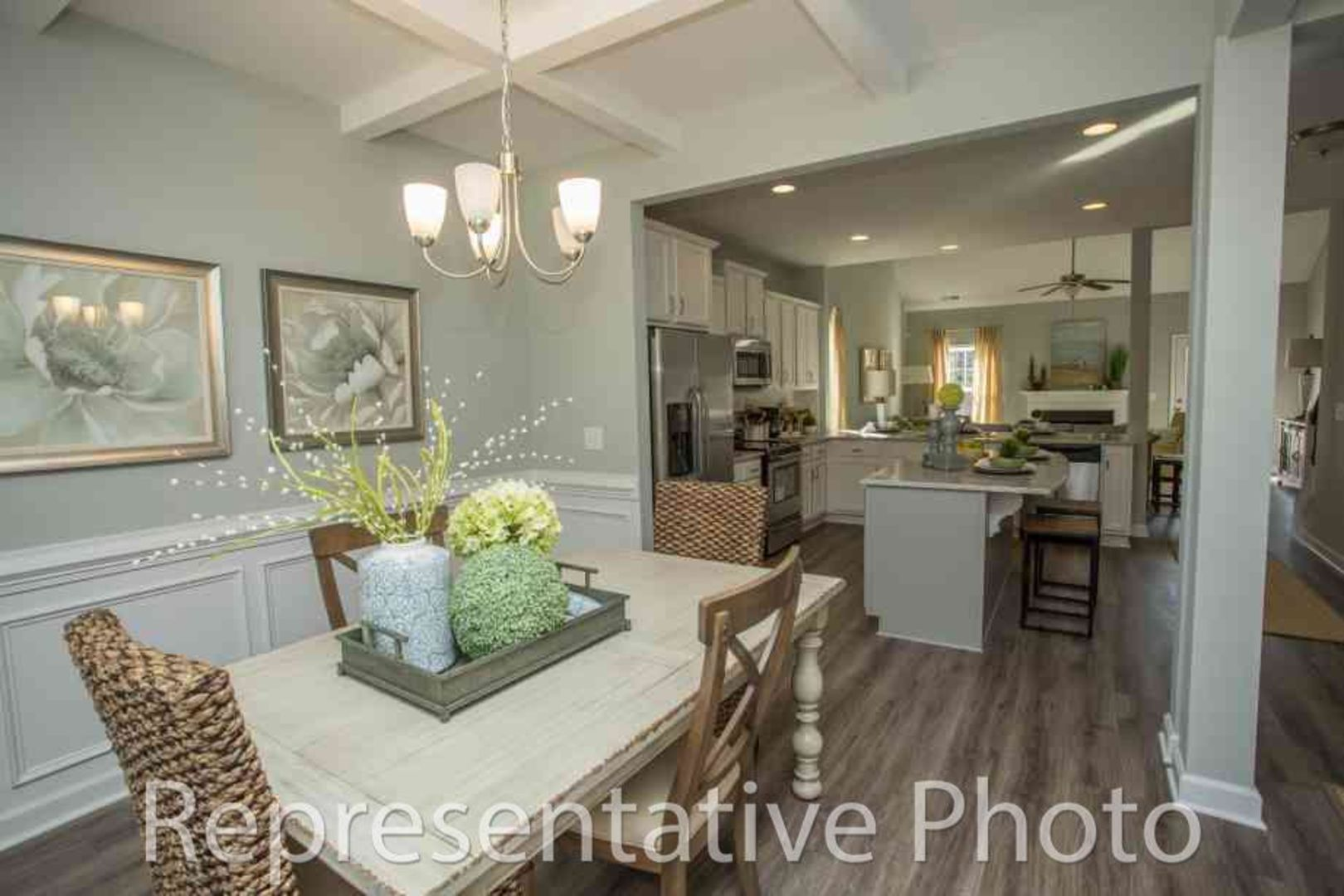 Kitchen featured in the Jordan By HH Homes in Charlotte, NC