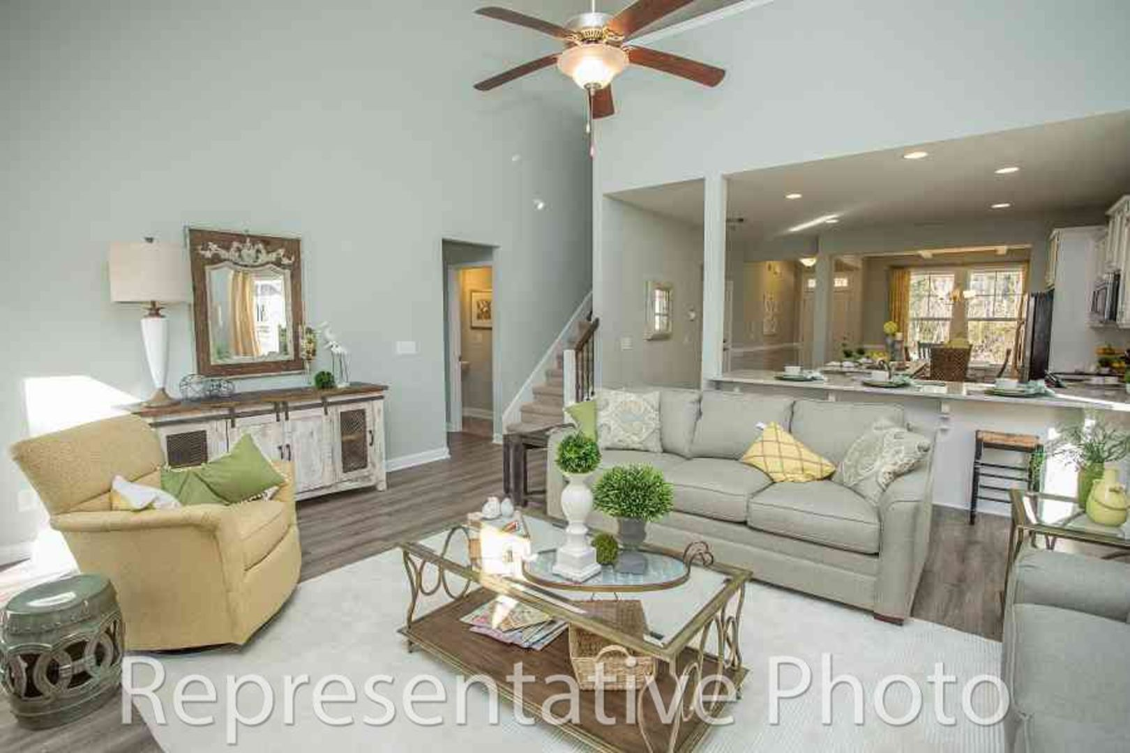 Living Area featured in the Jordan By HH Homes in Charlotte, NC