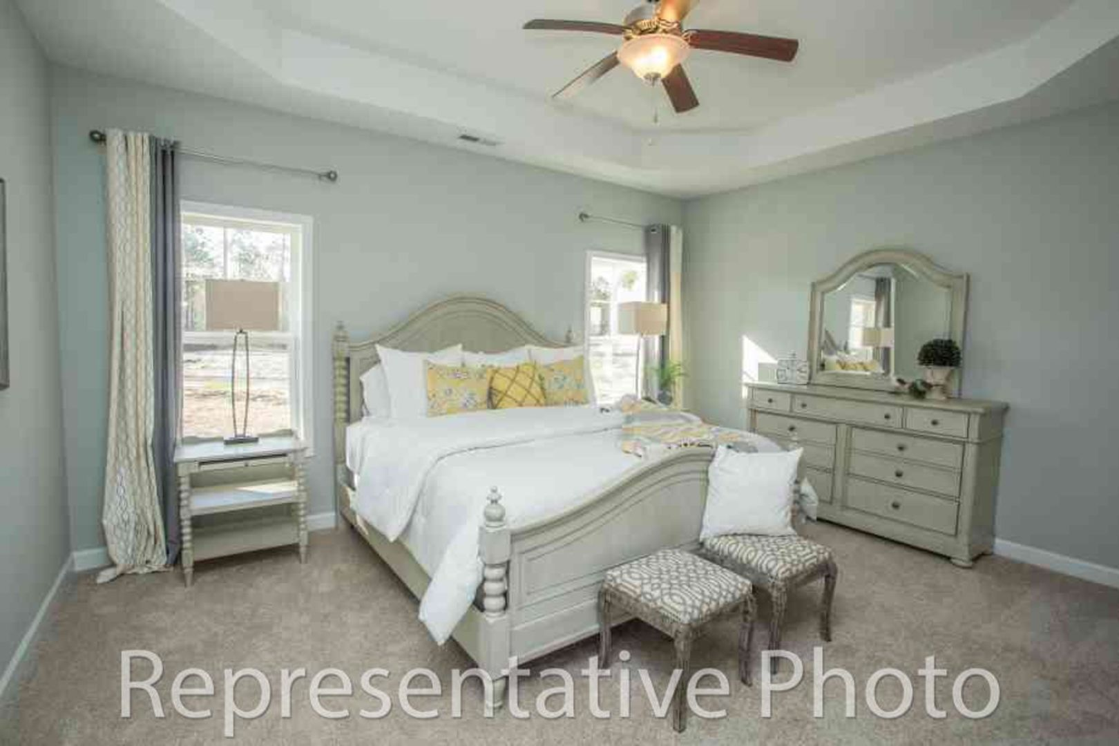 Bedroom featured in the Jordan By HH Homes in Fayetteville, NC