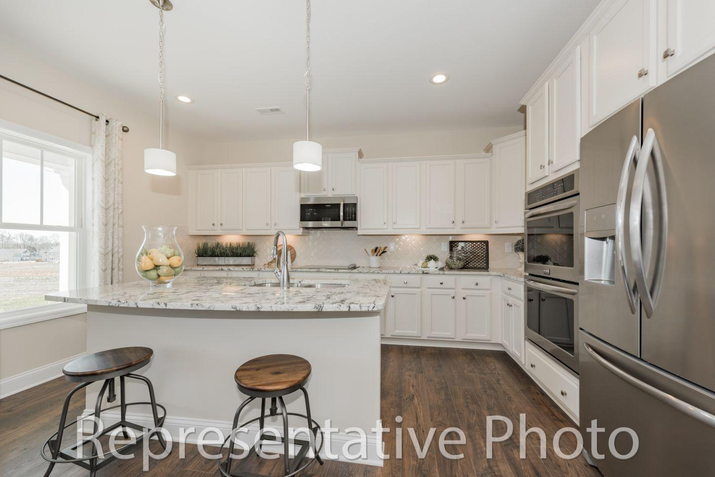 Kitchen featured in the Jackson By HH Homes in Raleigh-Durham-Chapel Hill, NC