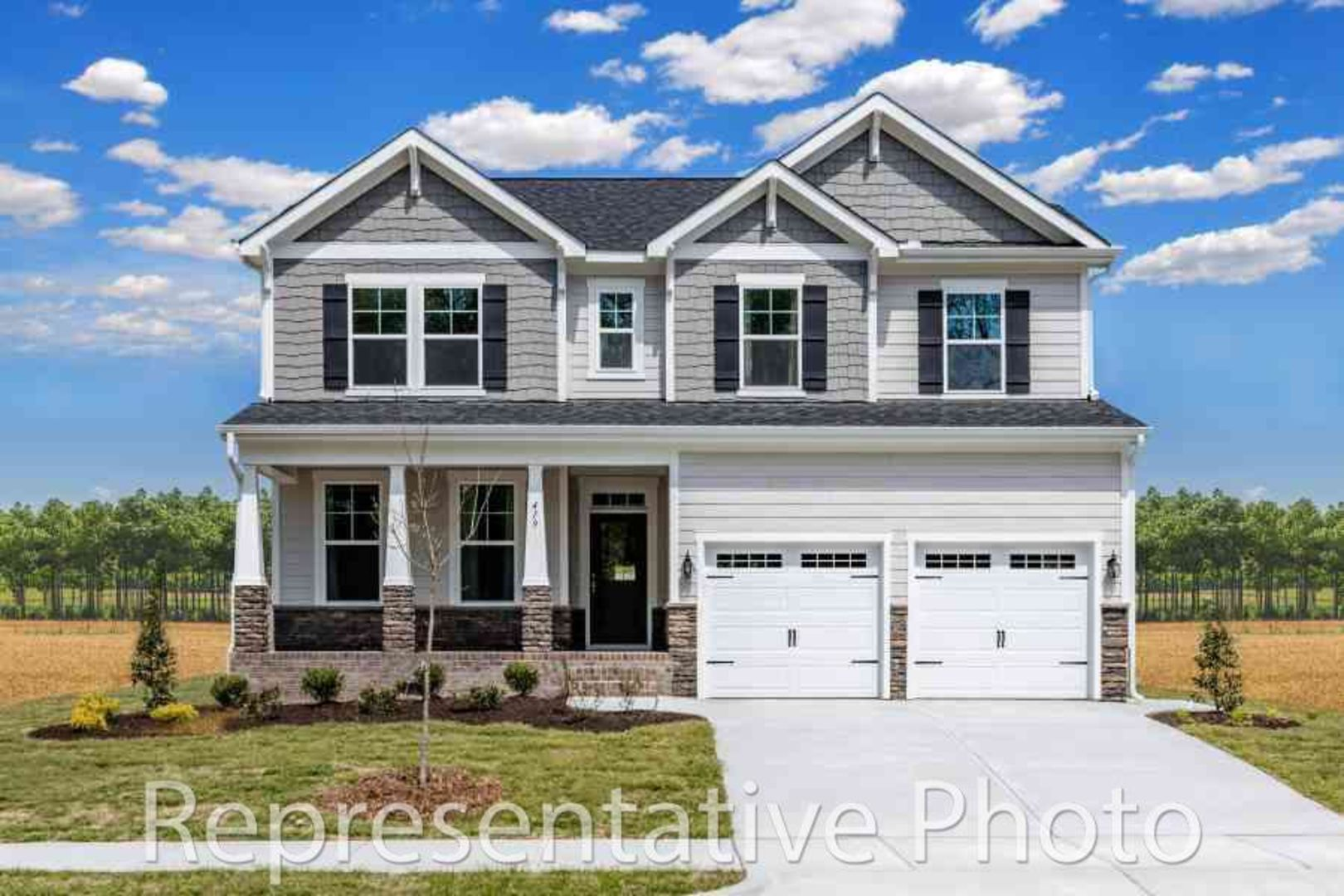 Exterior featured in the Trillium By HH Homes in Charlotte, SC
