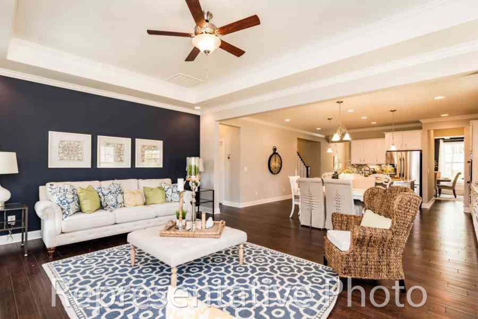 Living Area featured in the Trillium By HH Homes in Jacksonville, NC