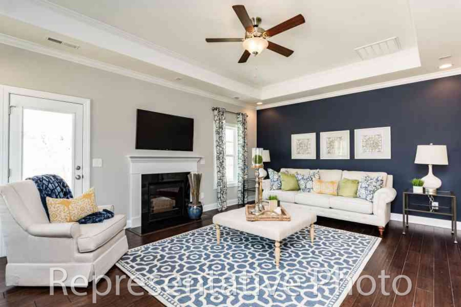 Living Area featured in the Trillium By HH Homes in Myrtle Beach, SC
