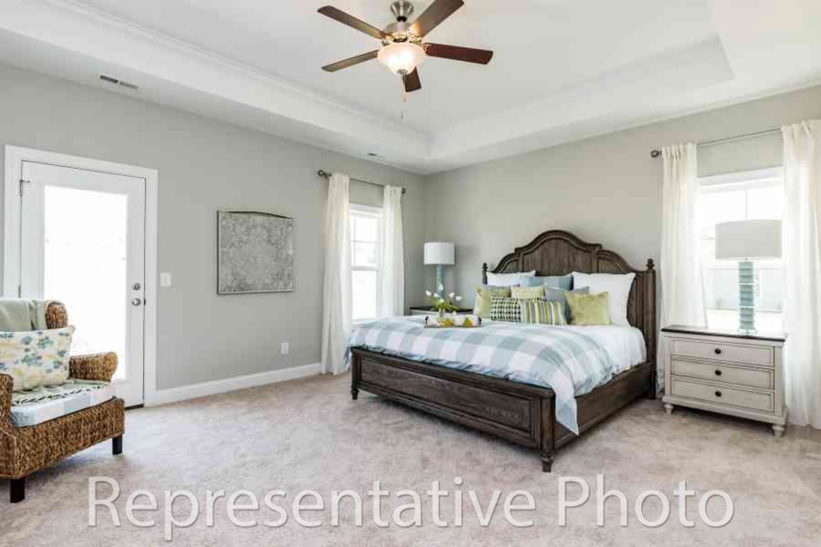 Bedroom featured in the Trillium By HH Homes in Jacksonville, NC