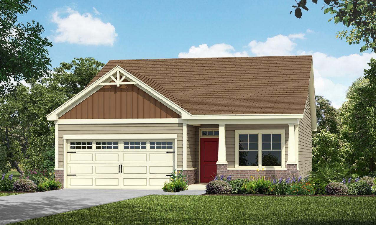 Exterior featured in the Wisteria By HH Homes in Greensboro-Winston-Salem-High Point, NC