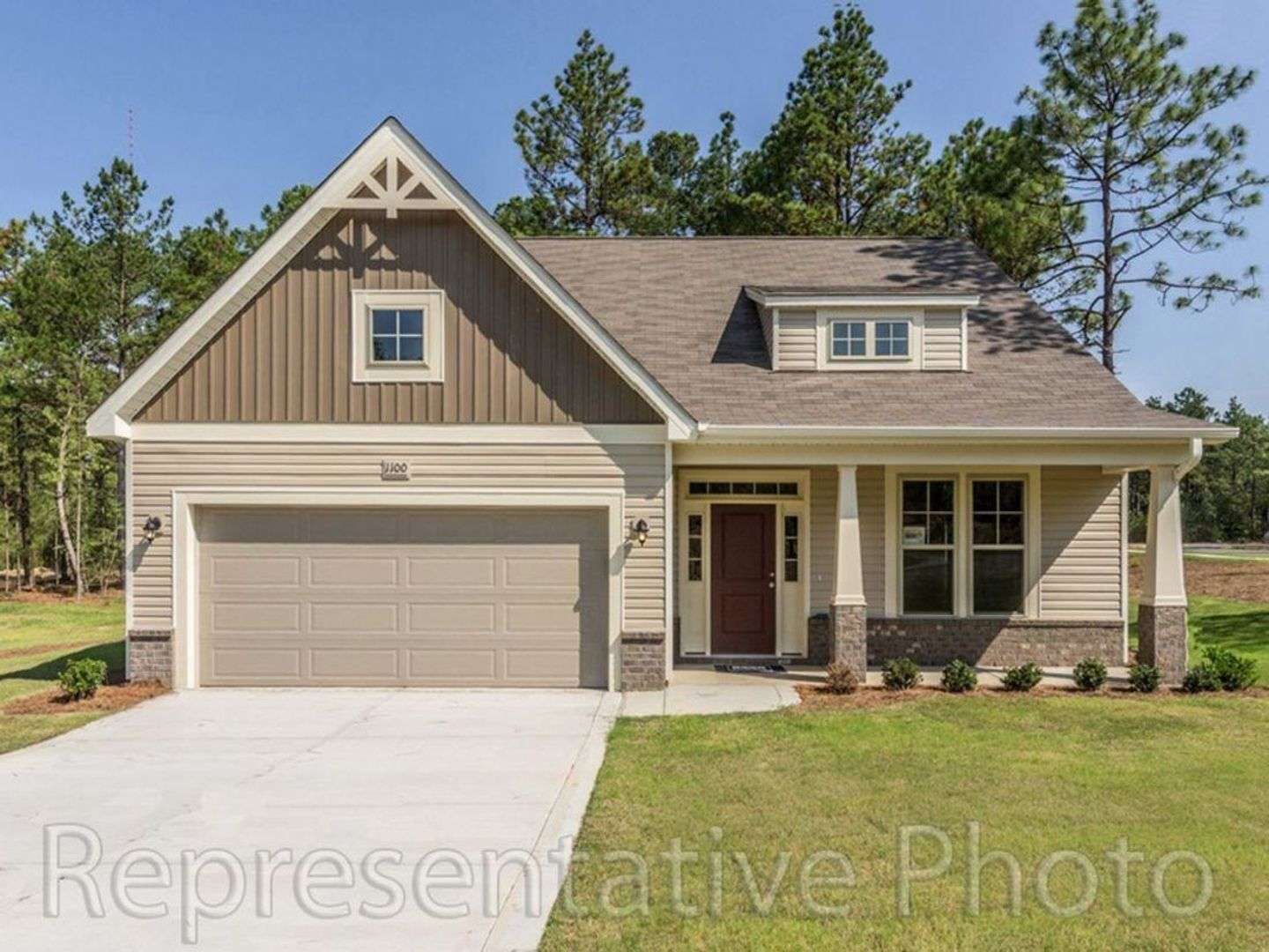 Exterior featured in the Kent By HH Homes in Raleigh-Durham-Chapel Hill, NC